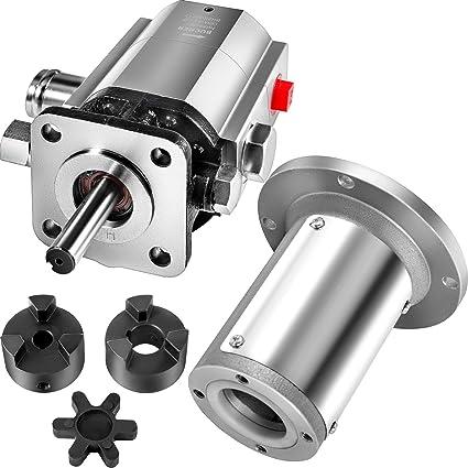 VEVOR Hydraulic Wood Splitter Pump Aluminum 2-stage Log Splitter ...