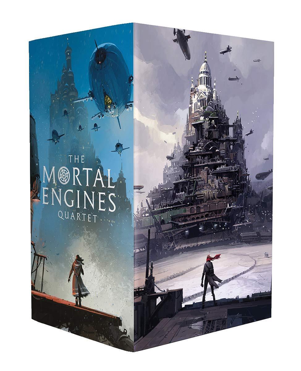 Mortal Engines (Ian McQue boxset x4) (Mortal Engines Quartet) (Inglese) Copertina rigida – 1 nov 2018 Philip Reeve Scholastic 1407191772 YOUNG ADULT FICTION / General