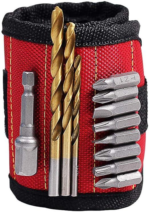 Bracelet Réglable Magnétique Aimant Puissant Outil Bricolage
