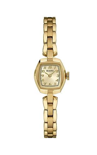 48f8305729c8 Bulova 97L155 - Reloj de Pulsera para Mujer (Mecanismo de Cuarzo ...
