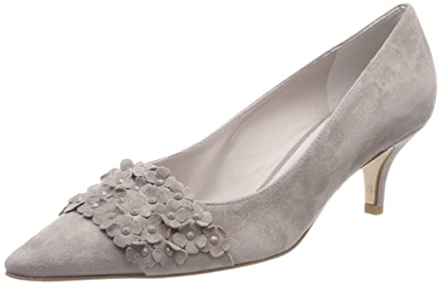 Selma, Zapatos con Tira de Tobillo para Mujer, Verde (Salvia 386), 40 EU Kennel & Schmenger