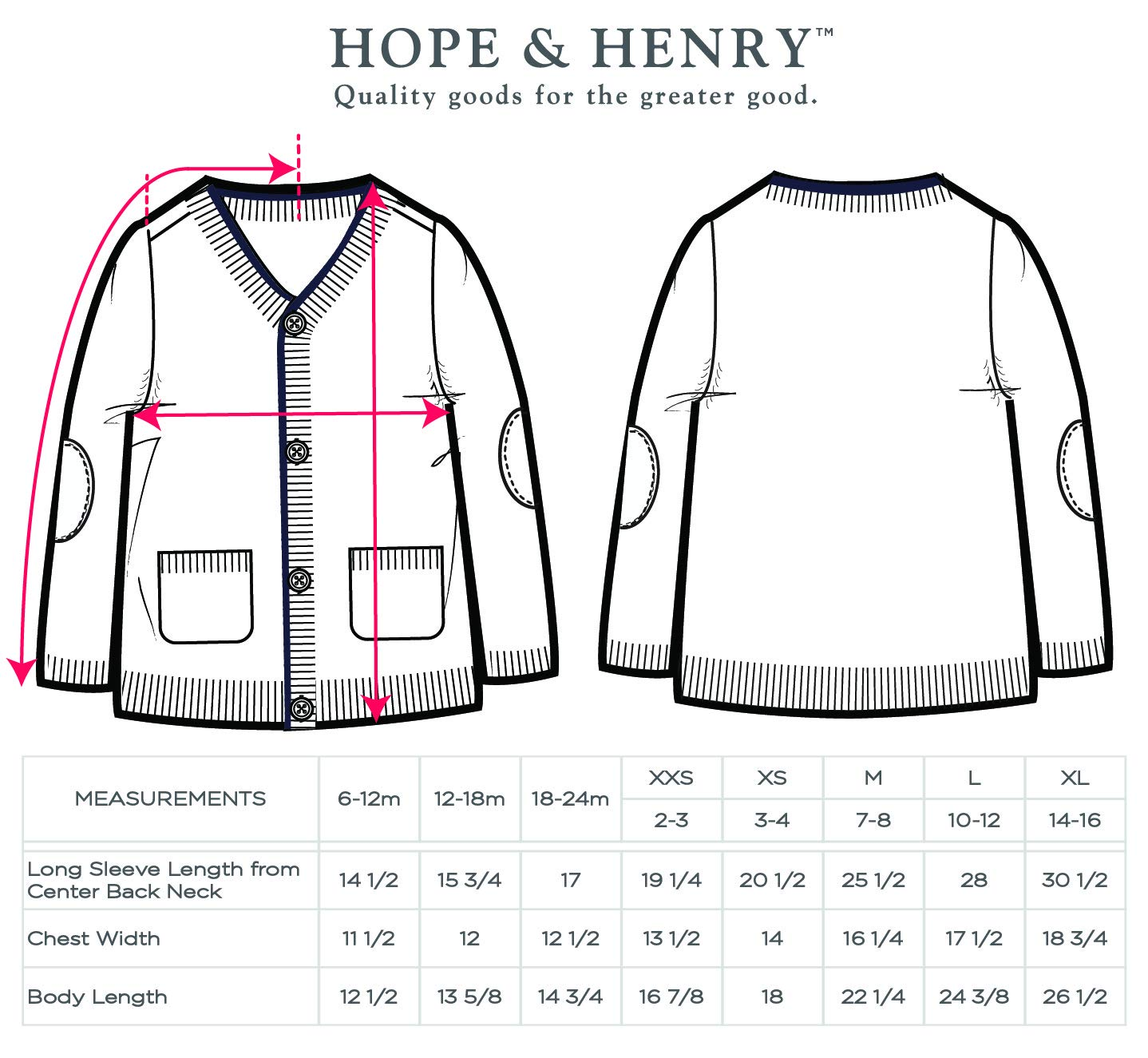 Hope & Henry Boys' Grey Cardigan Sweater Made with Organic Cotton by Hope & Henry (Image #4)