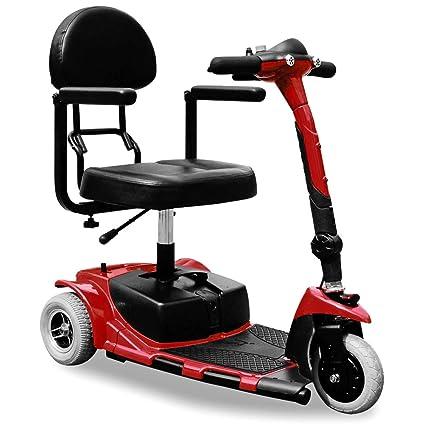 Silla de ruedas eléctrica triciclo zt-17 a eléctrico Movilidad Scooter 3 ruedas 180 W