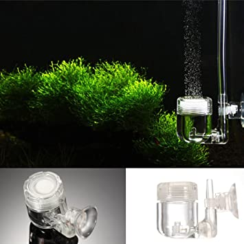 Galapara 4 en 1 Difusor de CO2 Compruebe Vavle de la Burbuja Cuenta ...
