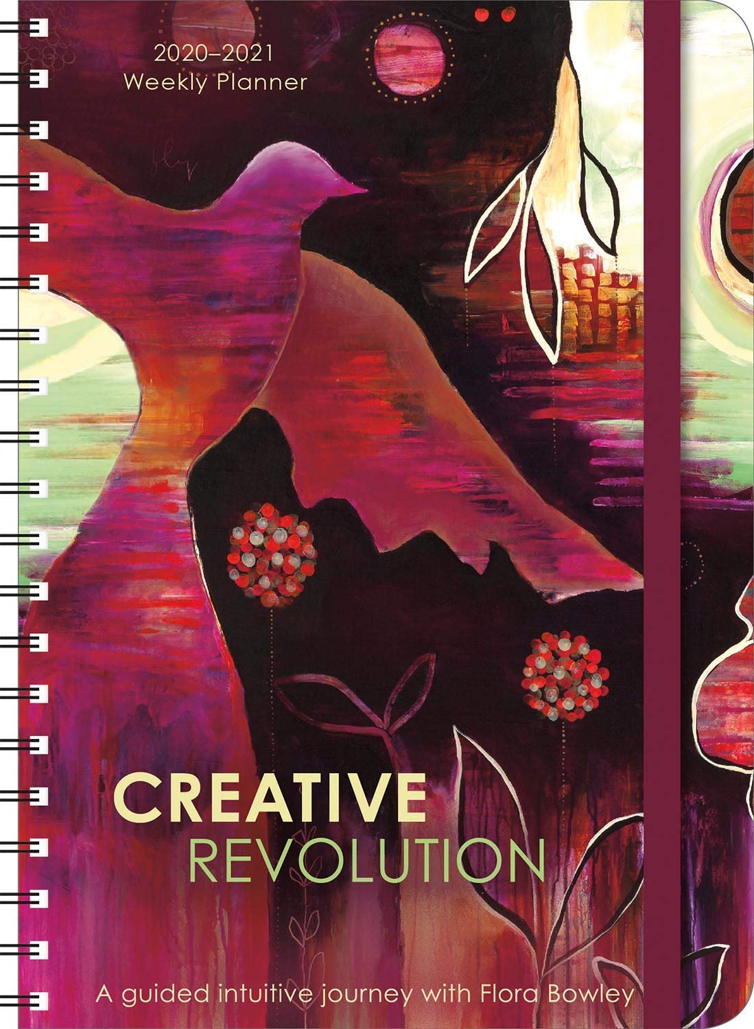 """Image for Creative Revolution 2021 On-the-Go Weekly Planner: 17-Month Calendar with Pocket (Aug 2020 - Dec 2021, 5"""" x 7"""" closed)"""