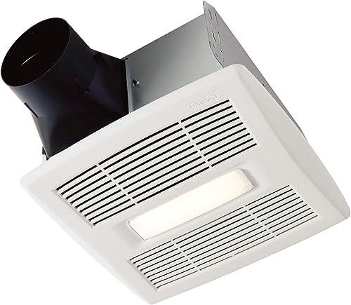 Broan-NuTone AE50110DCL Flex DC Series Bathroom Ventilation Fan, White