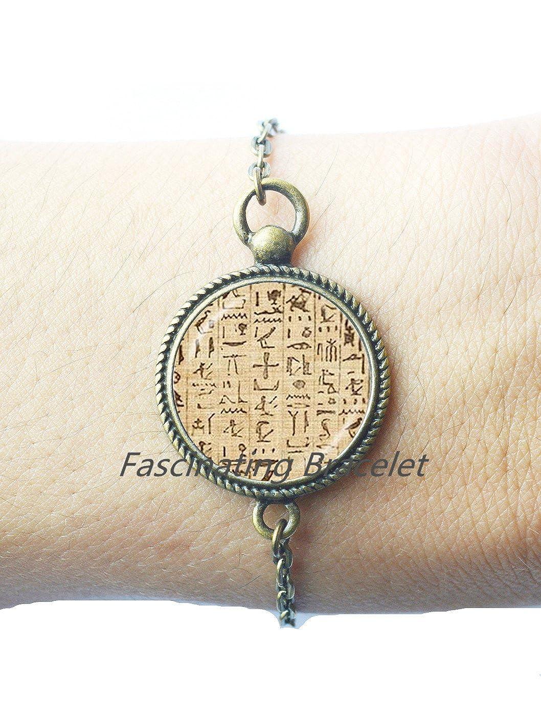 enjoying your shopping Fashion Bracelet,Egyptian Hieroglyphics ...