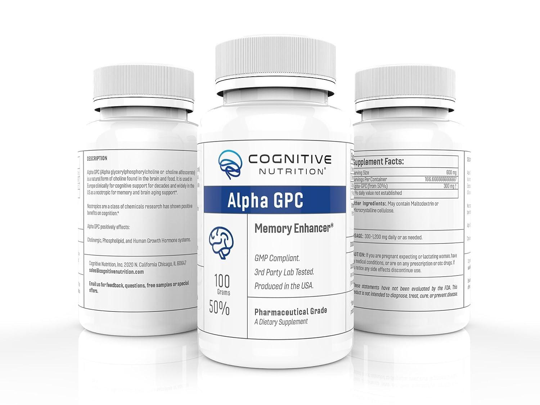 Amazon Com Alpha Gpc Choline Alfoscerate 300 Mg 60 Capsules