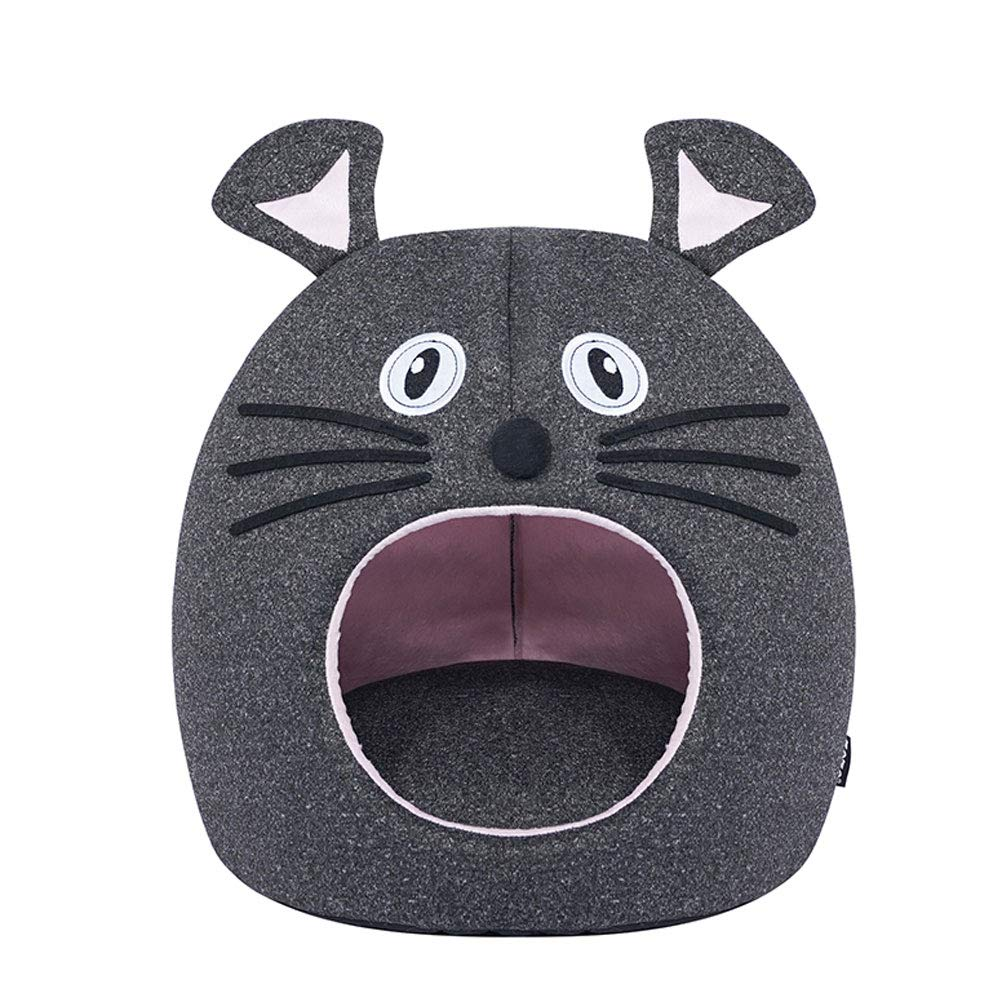 GCHOME Dog bed Cat Bed,Washable Non-slip Dog Bed Cat Nest,Waterproof Breathable Removable Warm Cushion Cat Sleeping Bag Indoor Pet Nest