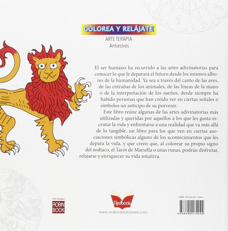 Amazon.com: Adivinación: Relajarse con mandalas para colorear (Arte Terapia) (Spanish Edition) (9788499174044): Germán Anón: Books