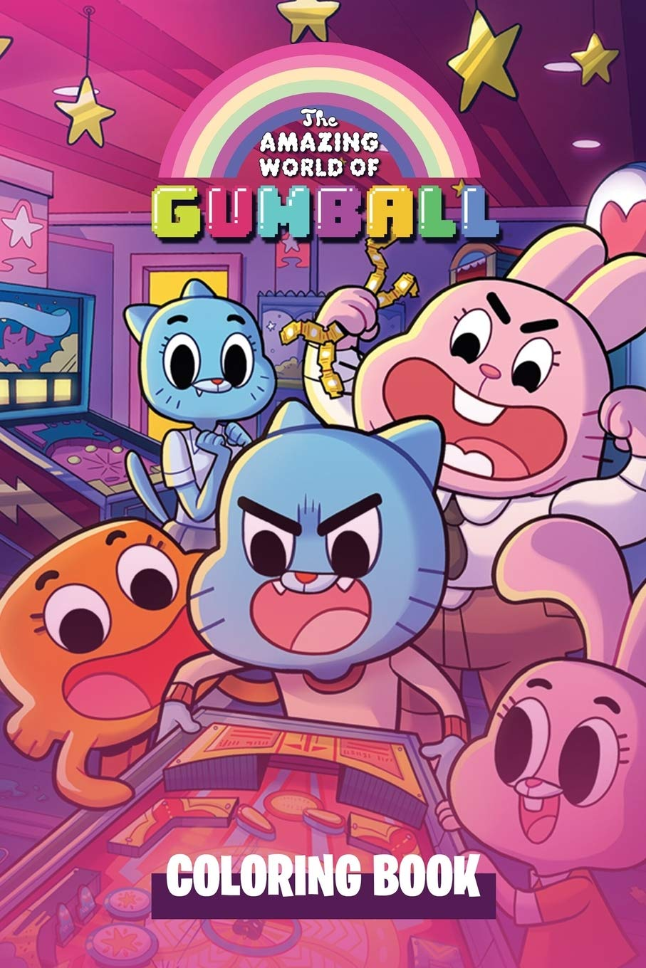 Amazing World Of Gumball Coloring Book Watterson Family Coloring Book Printable Coloring Sheets Cartooon Network Coloring Book And Activity For Kids Publishing New 9798642026045 Amazon Com Books