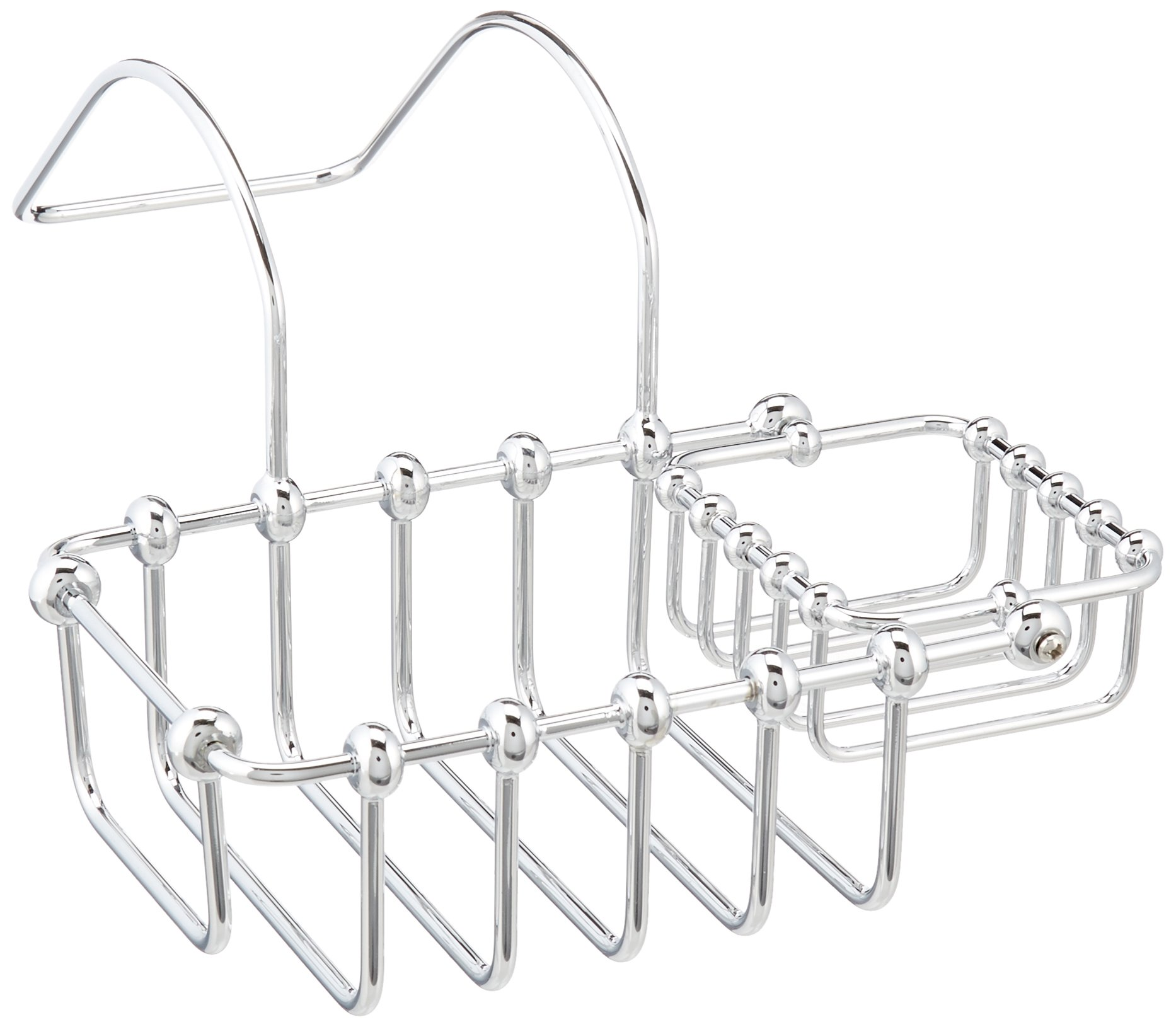 Elements of Design DS2171 St. Louis 7'' Clawfoot Tub Soap & Sponge Holder, 9-1/4'' Length, Polished Chrome by Elements of Design