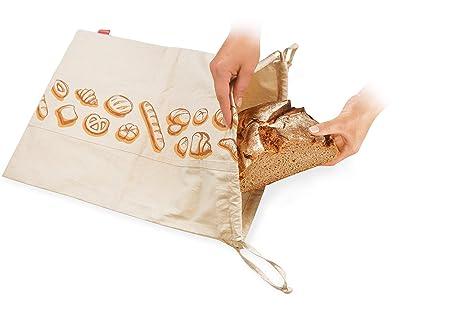 Tescoma Bolsa para Pan, Modelo «4Food, 50 cm x 35 cm: Amazon ...