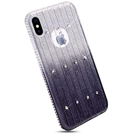 Ysimee Compatible con Fundas iPhone X XS Estuches,Silicona ...