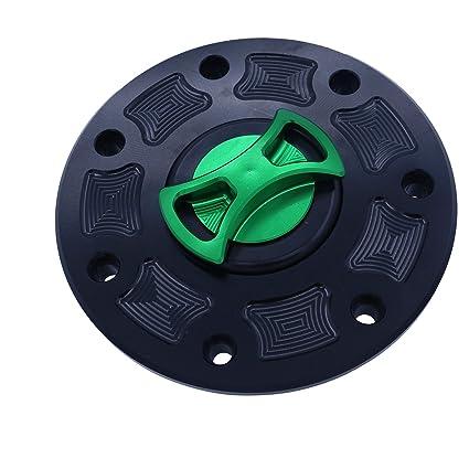 Billet CNC verde negro Gas tapón del depósito de combustible ...