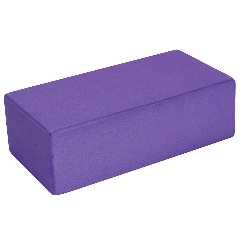 Amazon.com : Fitness Mad 8305 Hi-density Yoga Brick, Purple ...