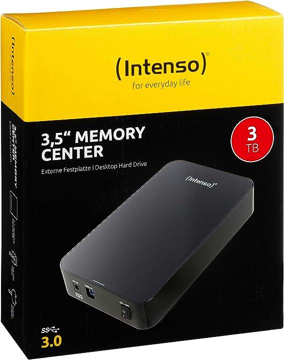 Intenso Memory Center 3 Tb Externe Festplatte 3 5 Zoll Amazon De Computer Zubehör