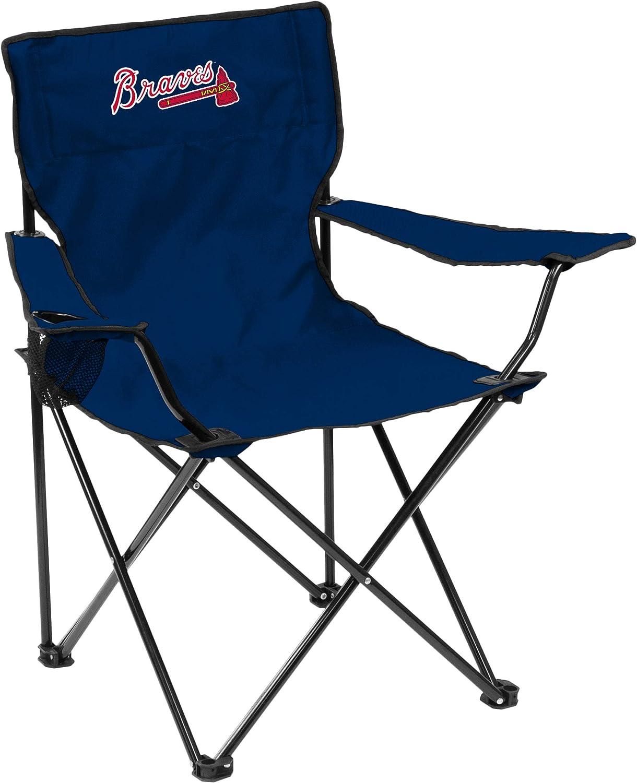 Logo MLB Atlanta Braves Adult Quad Chair Navy