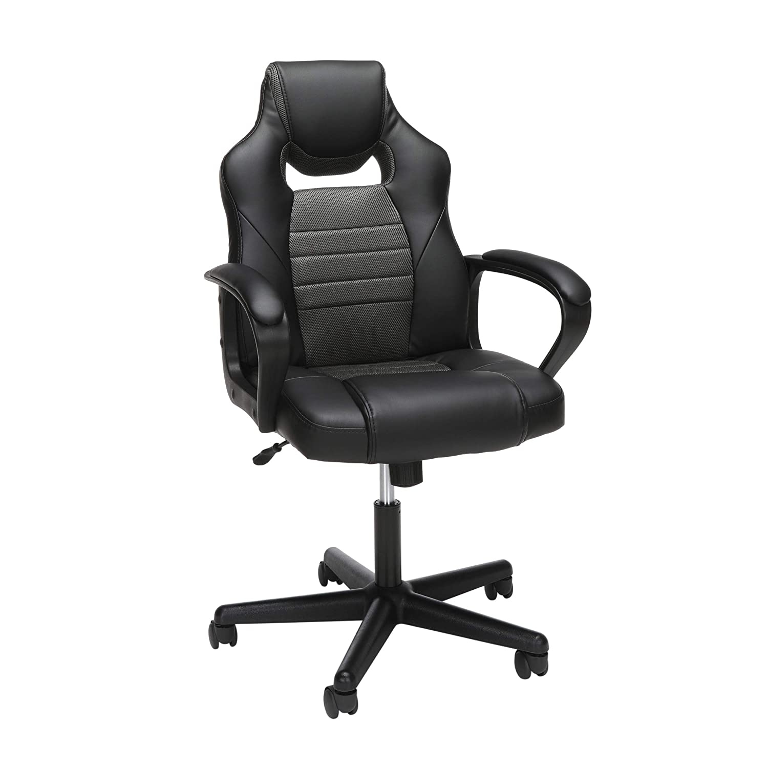 OFM Essentials Collection Racing Style Gaming Chair, in Green ESS-3083-GRN