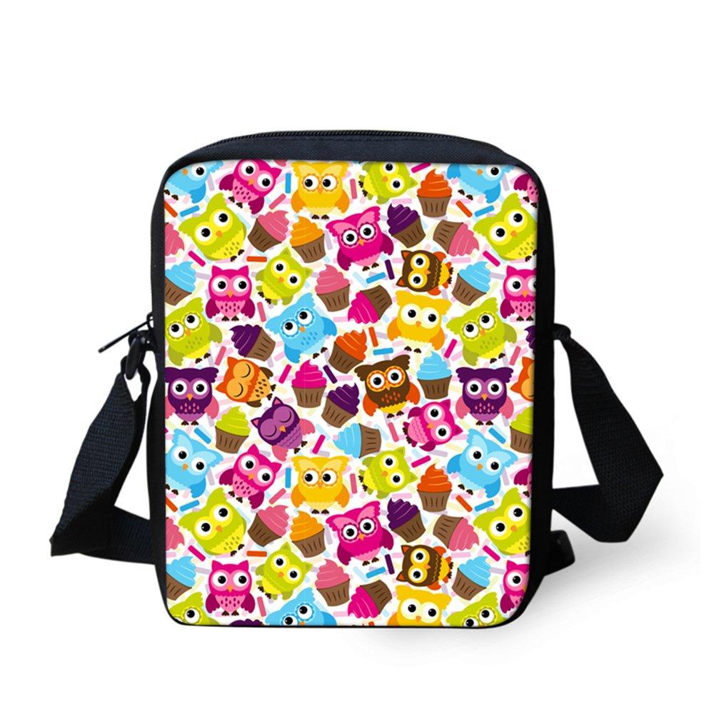 Youngerbaby Fashion Cute Print Kids Cross Bag Funny Messenger Bag Durable