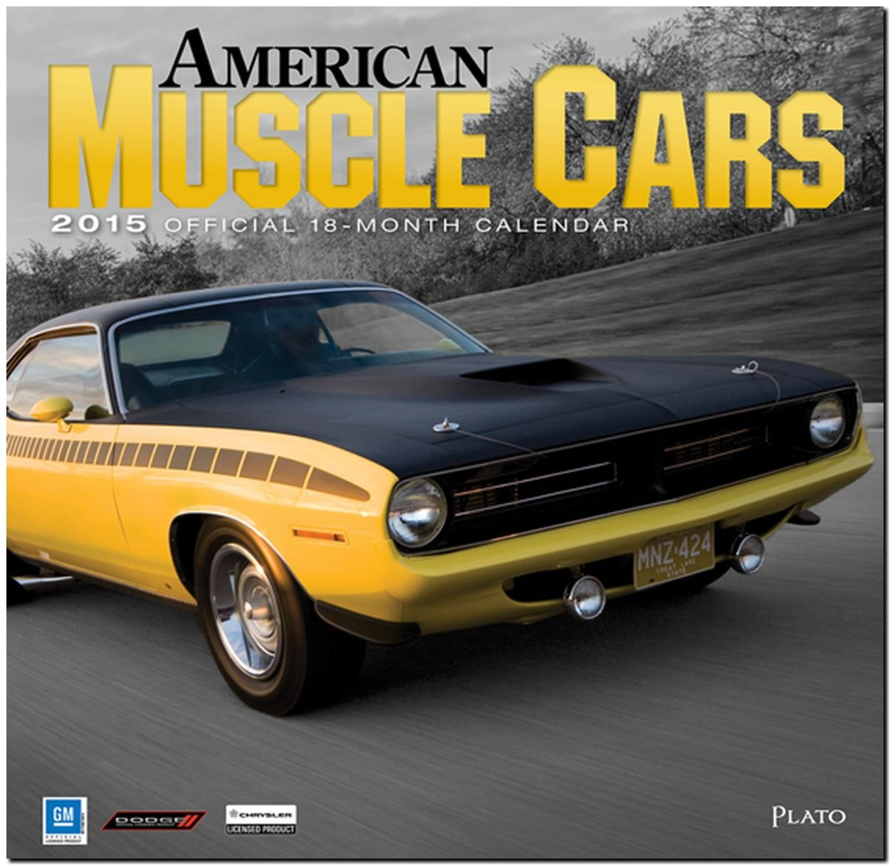 Cheapest Copy Of American Muscle Cars 2015 Square 12x12