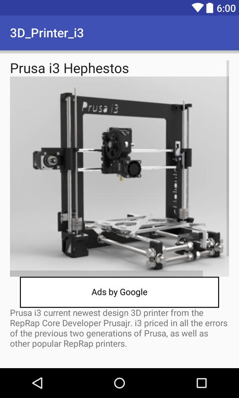 Impresora 3D Prusa i3: Amazon.es: Appstore para Android