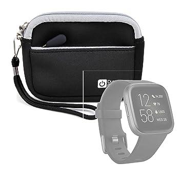 DURAGADGET Estuche De Neopreno Negro Compatible con Smartwatch ...