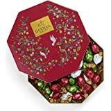 Godiva Chocolatier Holiday Gift Tin with Assorted Chocolate Truffles, Christmas Gift Idea, 50 Count