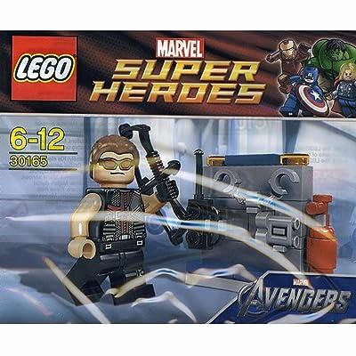 LEGO Super Heroes: Hawkeye with Equipment Set 30165 (Bagged): Toys & Games [5Bkhe1402840]