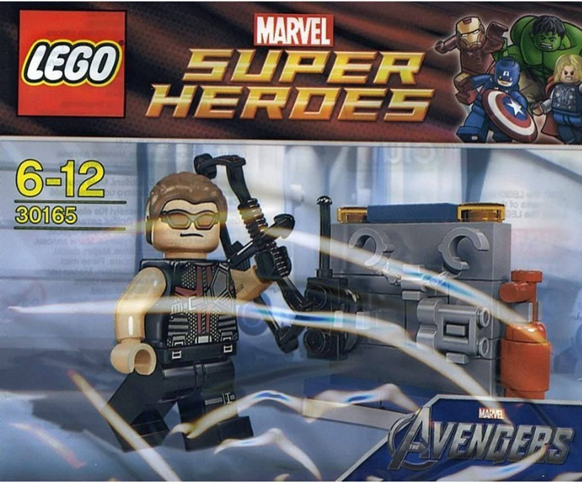 Amazon Com Lego Super Heroes Hawkeye With Equipment Set 30165 Bagged Toys Games
