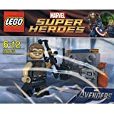 LEGO Super Heroes: Hawkeye Con Equipment Set 30165 (Insaccato)