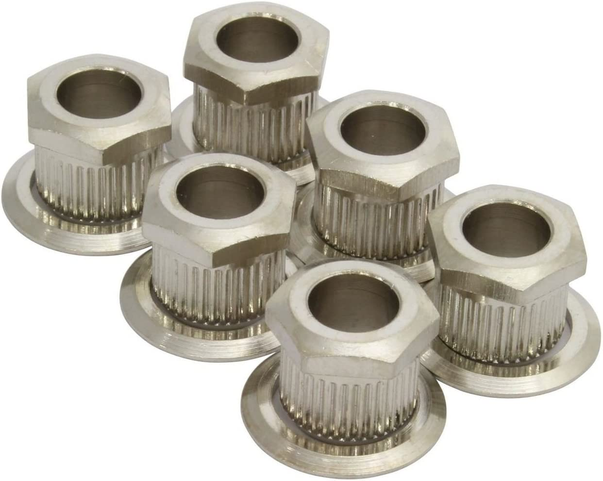 FarBoat Hardware 0.5 Dia Wing Nuts Silver Carbon Steel Butterfly Nuts Fasteners Parts Zinc Plated Surface Pack of 20