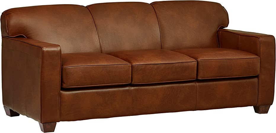 Amazon Com Stone Beam Fischer Queen Sized Sleeper Sofa 79 W
