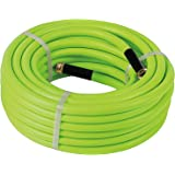 Atlantic Premium Hybrid Garden Hose 5/8 Inch 75 Feet Brass Fittings Can Working Under -4°F, Light Weight, Abrasion Resistant, Extreme All Weather Flexibility