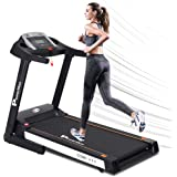 PowerMax Fitness Unisex Adult TDM-111 (4 Hp Peak) Motorized Treadmill With 5inch Lcd Display, Usb & Multimedia For Home…