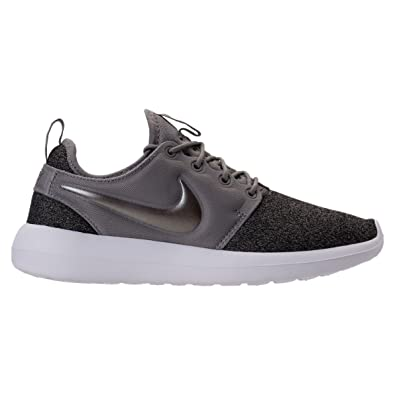 2d1d0fcae665 Image Unavailable. Image not available for. Color  NIKE Womens Roshe Two  Fly Knit DUST MTLC Pewter ...