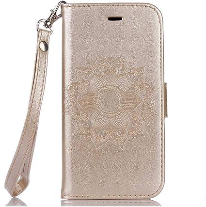 Custodia per Huawei P10 Lite Cover Tpu libro portafoglio con chiusura magnetica