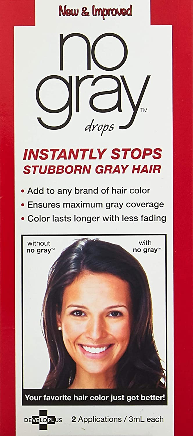 Amazon.com : No Gray Hair Color Additive 2 applications : Chemical ...