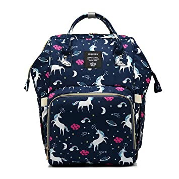 ca7ad79d37a5 Waterproof Diaper Bag Backpack Multi-Function Large Capacity Travel  Backpack Nappy Bags for...