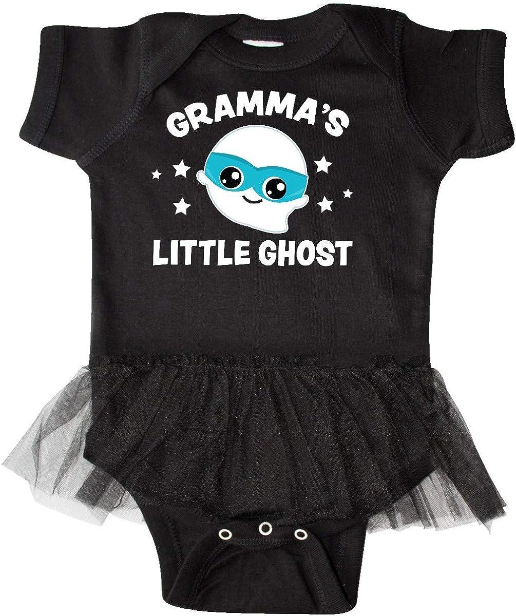 inktastic Cute Grammas Little Ghost Infant Tutu Bodysuit