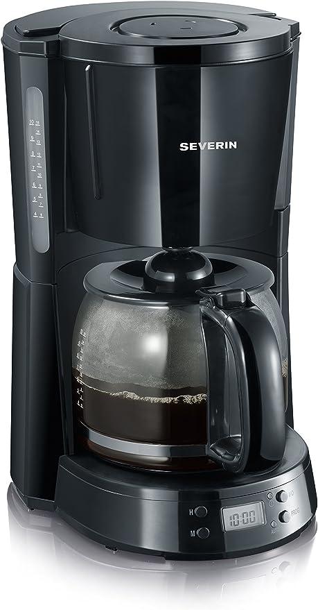 SEVERIN KA 4191 Cafetera Selectpara filtros de Café Molido, 10 ...