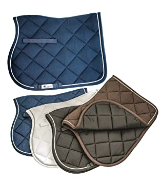b3b6d602c76e Saddlecloth Pony All Purpose Contoured Metallic Diamond EQUESTRO in Cotton  with Trimmings. Internal in Breathable