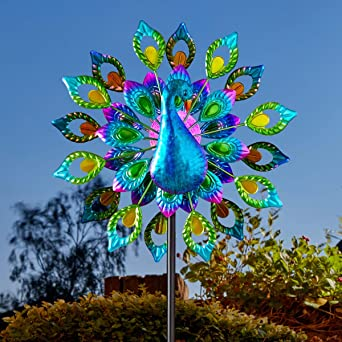 12 inch Multi Color Fairy  Wind Spinner Free Shipping