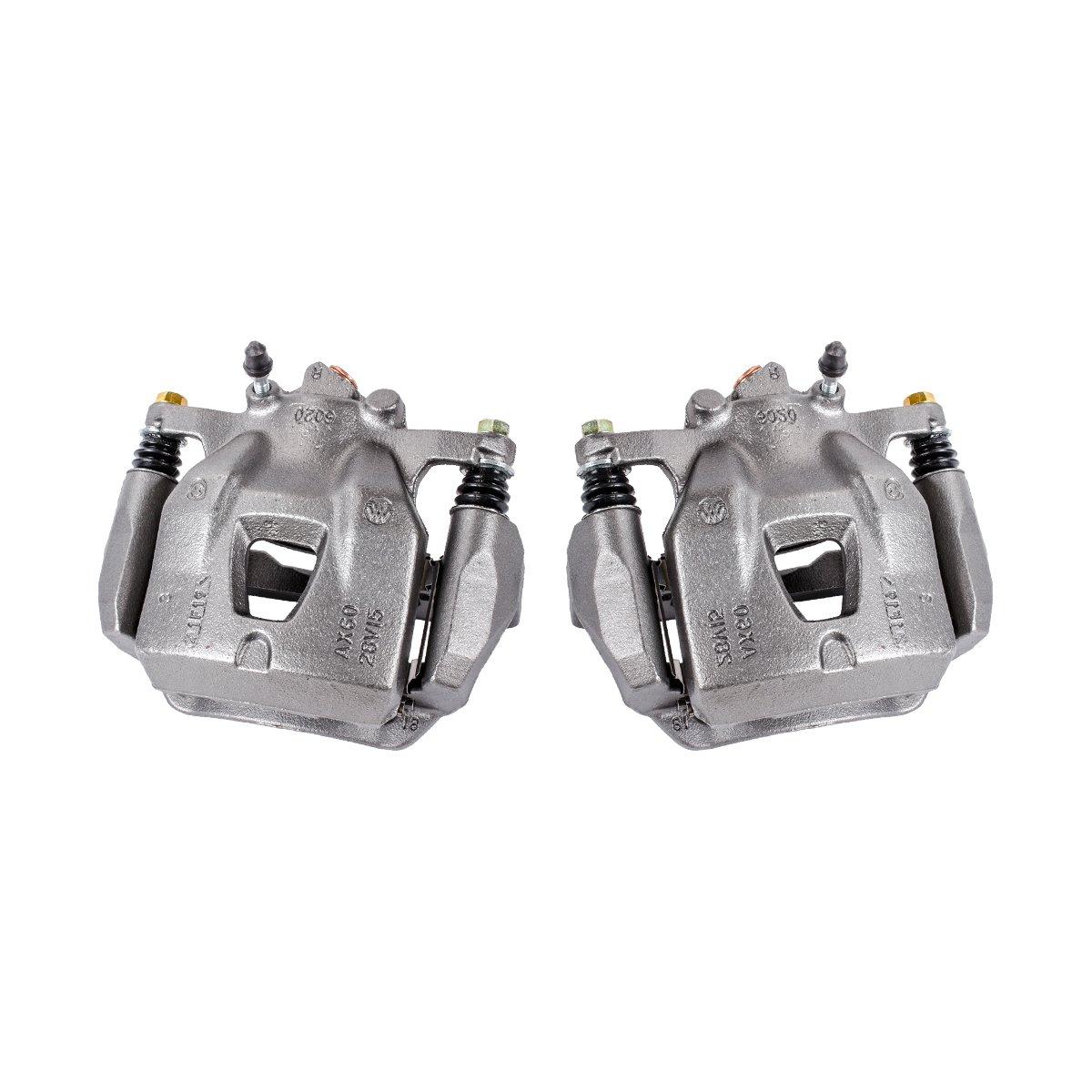 CCK01584 [ 2 ] FRONT Premium Grade OE Semi-Loaded Caliper Assembly Pair Set