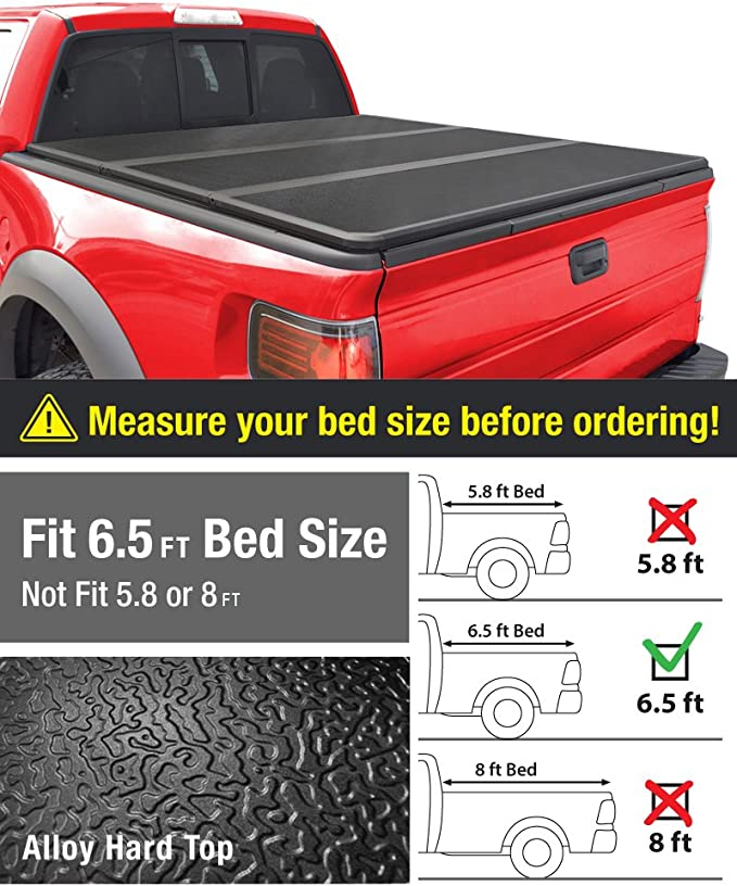 Without Utility Track System Tyger Auto T5 Alloy Hard Top Tonneau Cover Tg Bc5c1007 Works With 2014 2019 Chevy Silverado Gmc Sierra 1500 2015 2018 2500 3500 Hd Fleetside 6 5 Bed Tonneau Covers