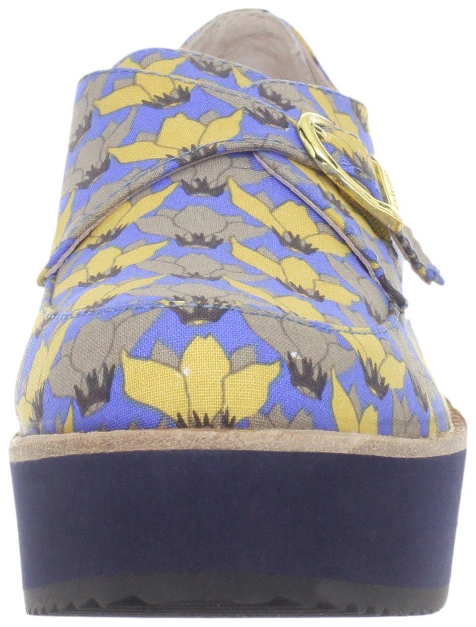 Bass Loves Rachel Antonoff Women's Fleur Loafer, Blue Floral, 6 M US by Bass Loves Rachel Antonoff (Image #4)