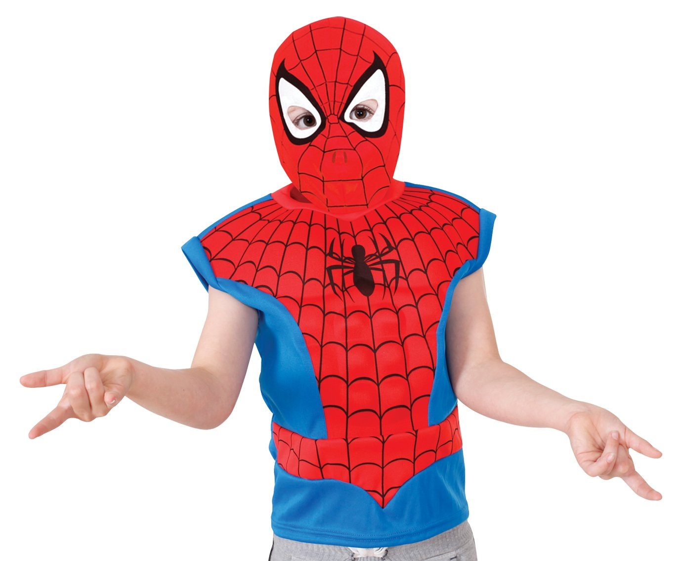 Rubies - Máscara para niño Spiderman a partir de 3 años (881307S): Amazon.es: Juguetes y juegos