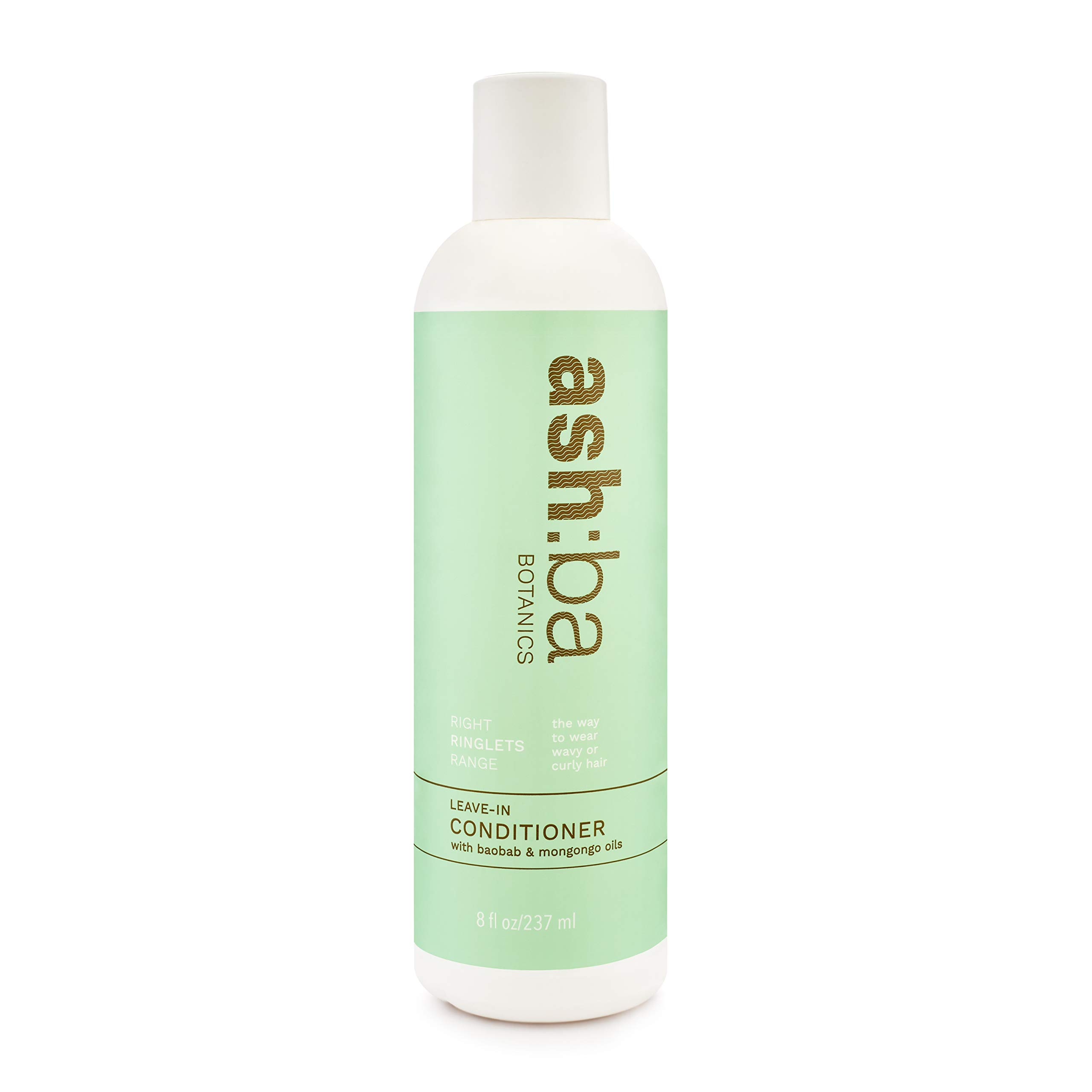 Ashba Botanics Right Ringlets Leave-in Conditioner for Curly & Wavy Hair - Vegan, Cruelty-free - 237ml