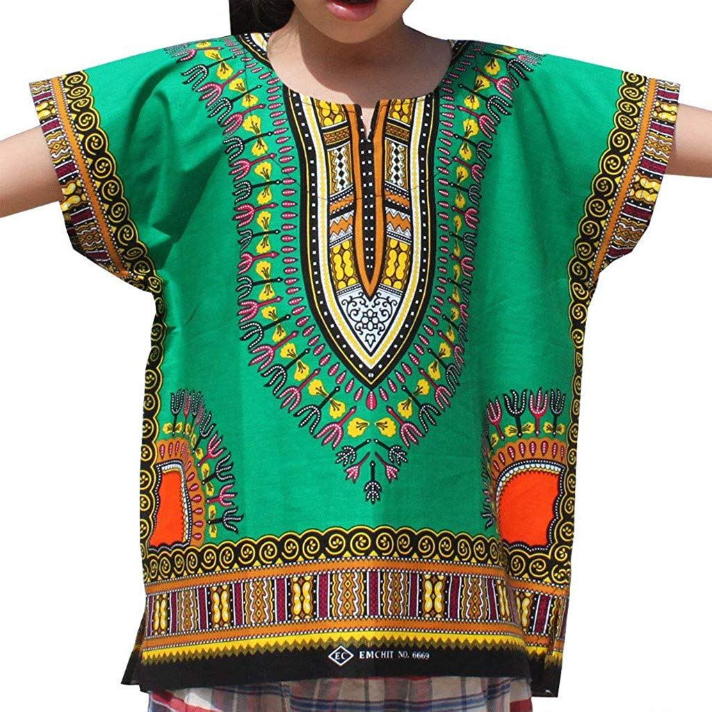 Tantisy /♣↭/♣ Kids National Style Tops