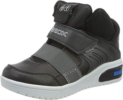 Quemar Sin personal empujoncito  Geox J XLED Boy A, Sneaker Niños: Geox: Amazon.es: Zapatos y complementos